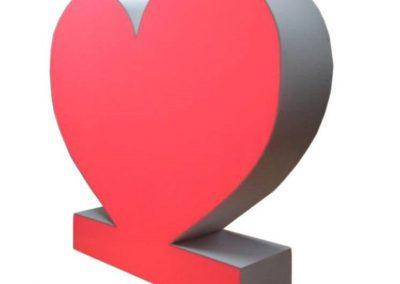 podswietlane serce