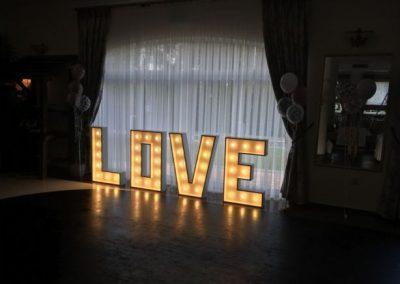 napisy dekoracyjne na wesele